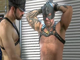 Leather Bear BDSM Session