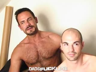 Sucking Dad's Big Dick