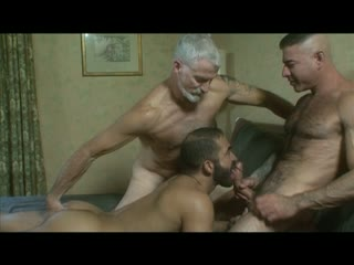 Beefcake Daddy Threesome