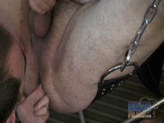 Big Bear Sling Threesome