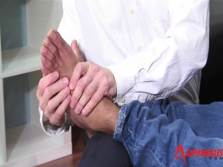 Hairy Muscle Massage Men