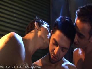 Horny Hombre Threesome